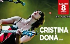 Cristina Donà in concerto al MA di Catania - 8 marzo 2014