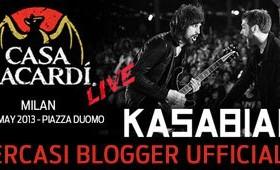 Casa Bacardi cerca blogger - Kasabian live