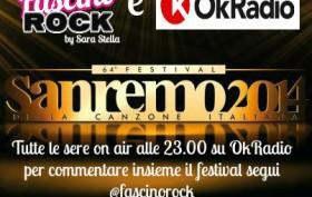 Ok Radio e Fascino Rock commentano insieme Sanremo 2014