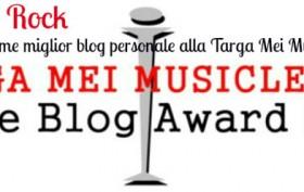 Fascino Rock è in nomination all' Indie blog Award della Targa Mei Musicletter