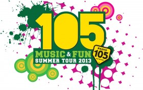 105 Summer Music & Fun Tour 2013
