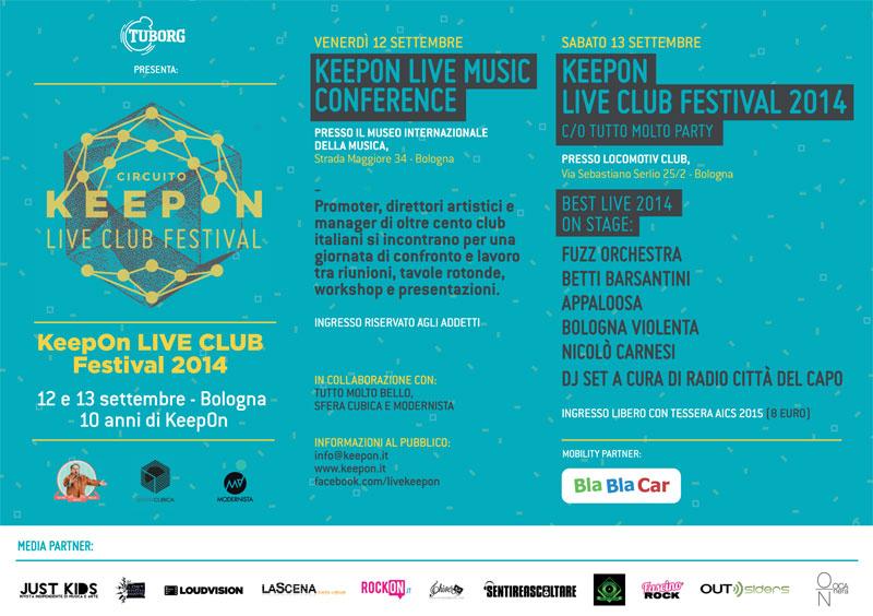 KeepOn LIVE CLUB Festival 2014