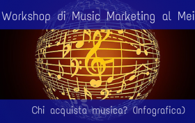 Workshop sul music marketing al Mei e infografica su chi compra la musica